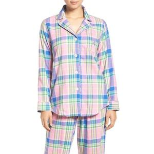 Ralph Lauren Twill Plaid Pajama Top